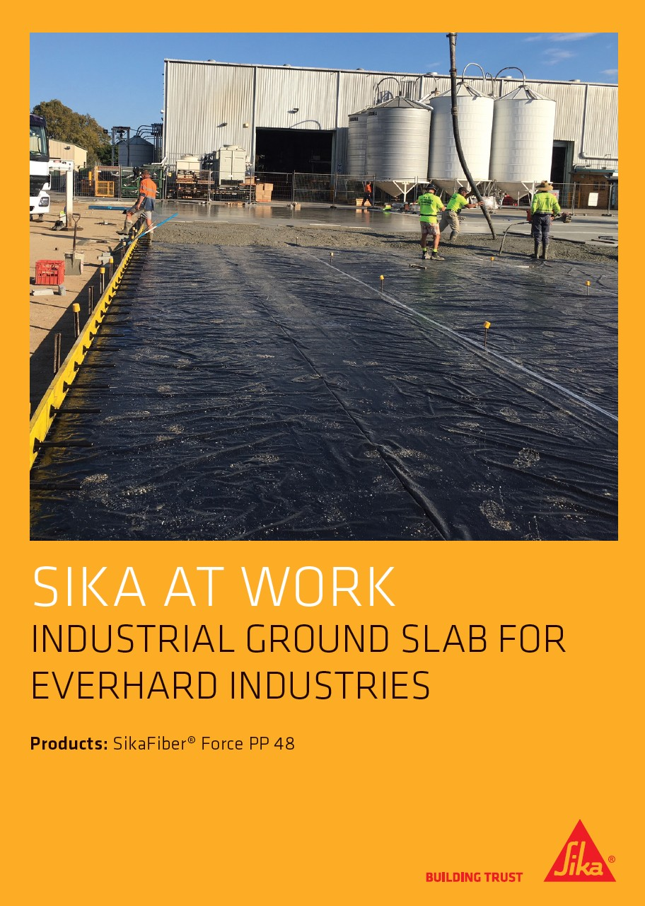 Industrial Ground Slab for Everhard Industries