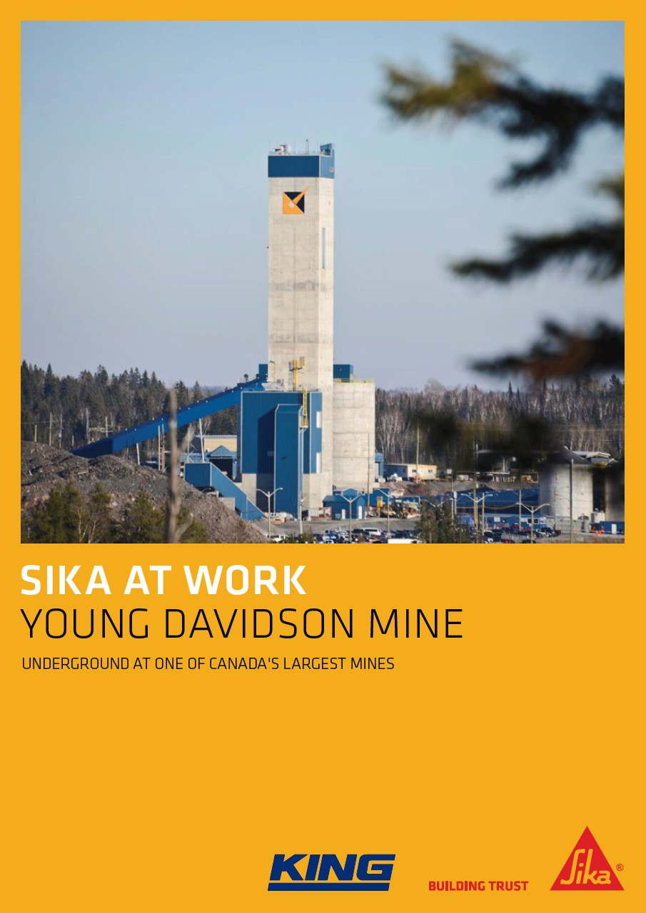 Young Davidson Gold Mine in Canada