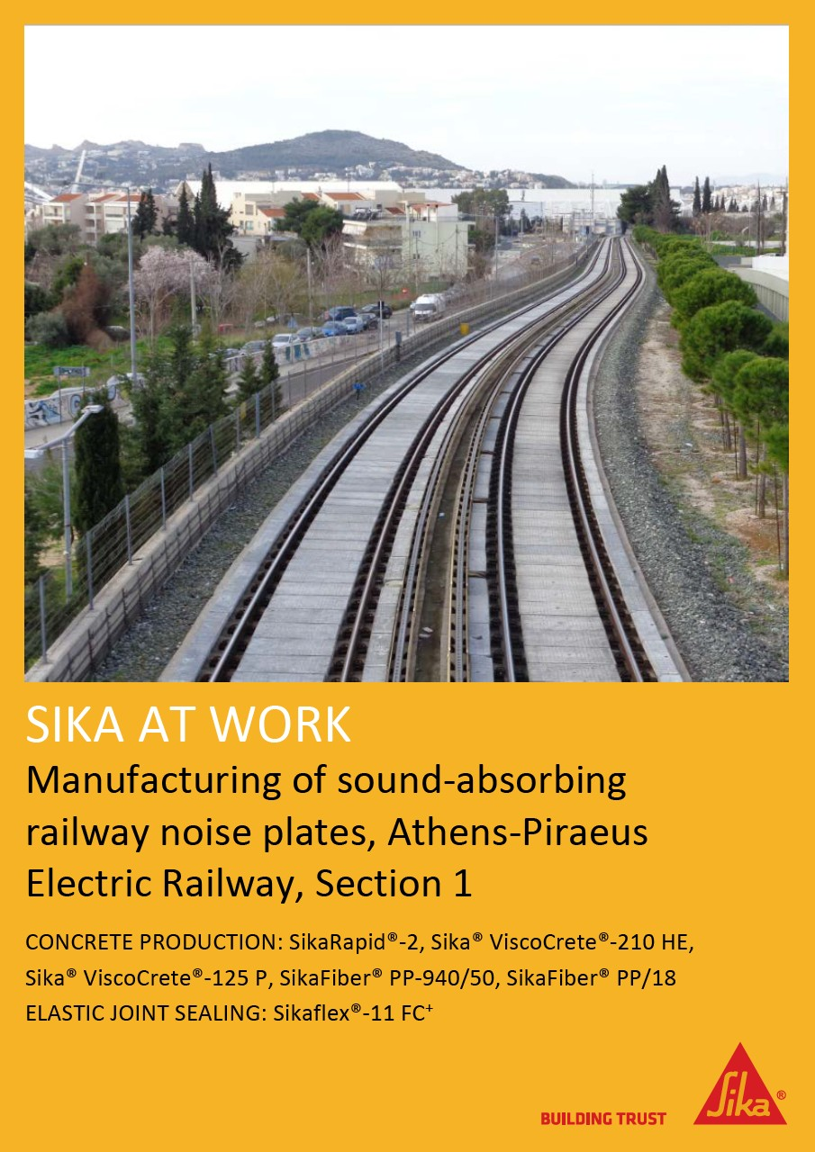 Electric Railway Project in Athens, Greece