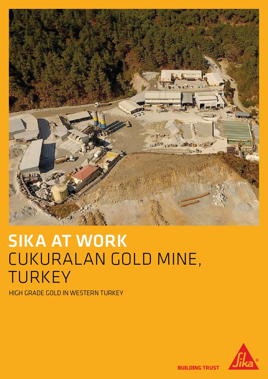 Cukuralan Gold Mine in Western Turkey