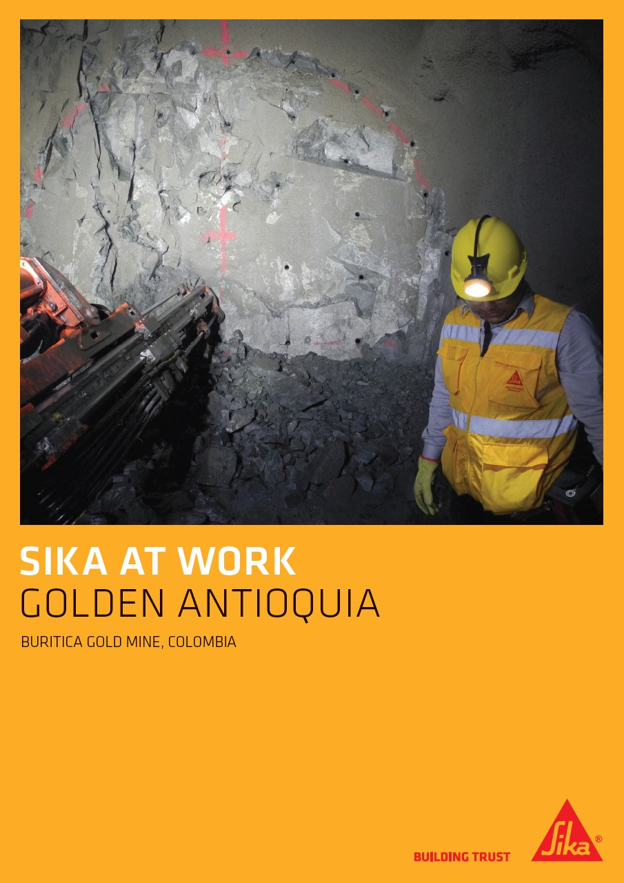 Golden Antioquia - Buritica Gold Mine in Colombia