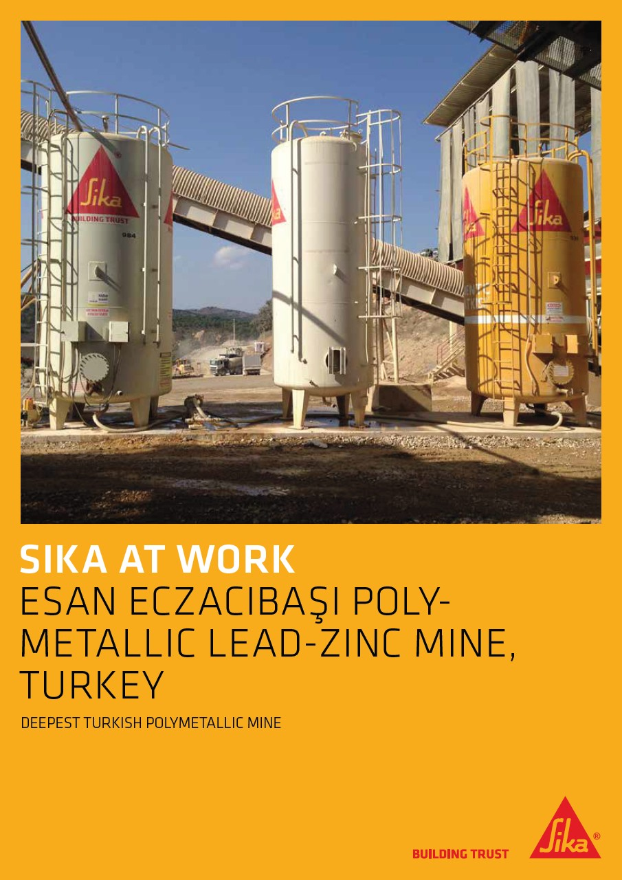 Esan Eczacibaşi Polymetallic Lead - Zinc Mine in Turkey
