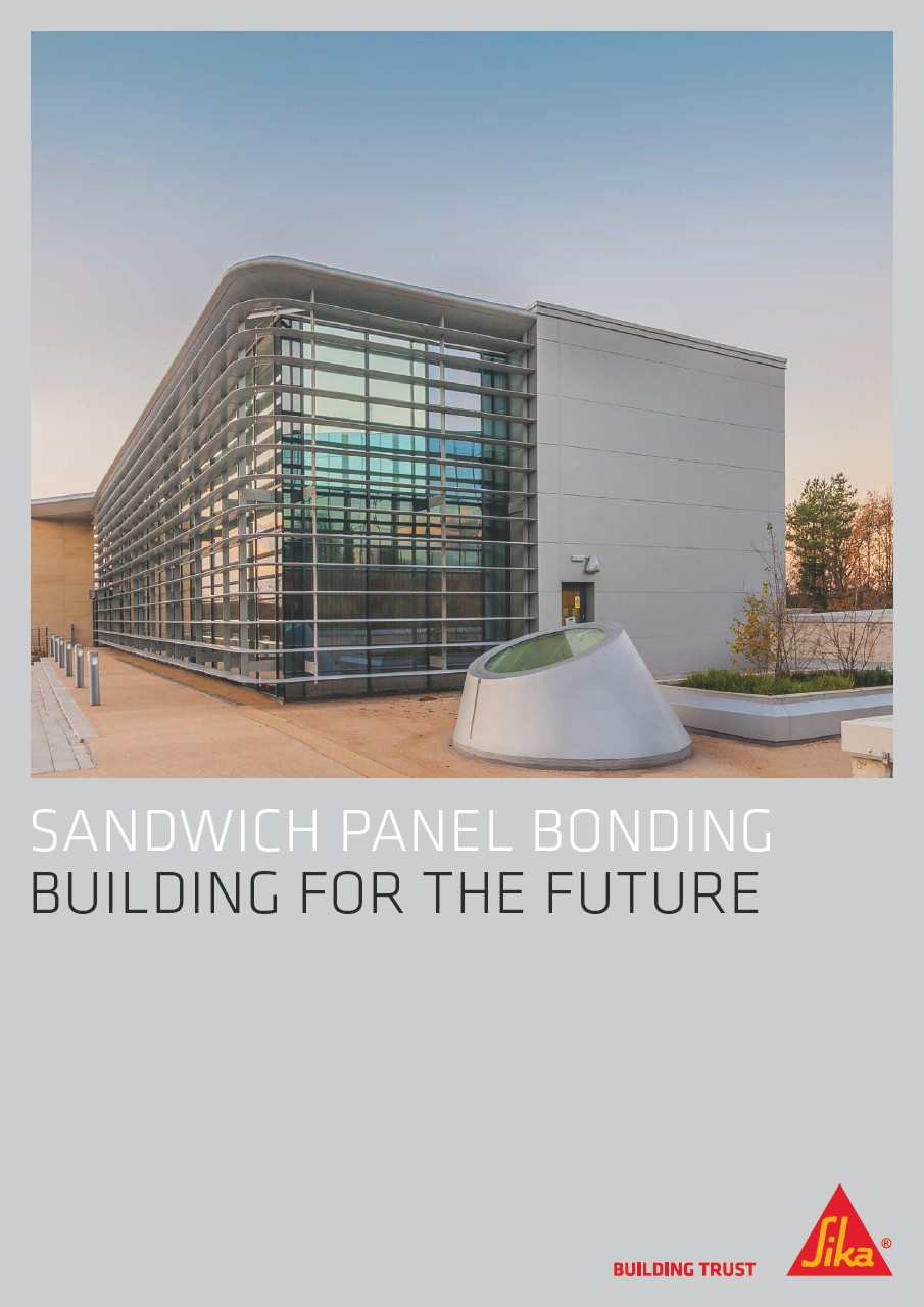 SANDWICH PANEL BONDING BUILDING FOR THE FUTURE